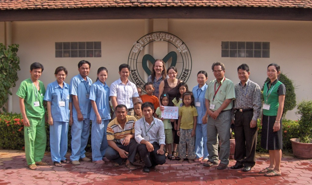 AHC is dedicated to ensure that children in Cambodia receive adequate medical care.